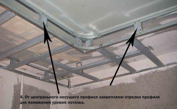 Монтаж потолков из
