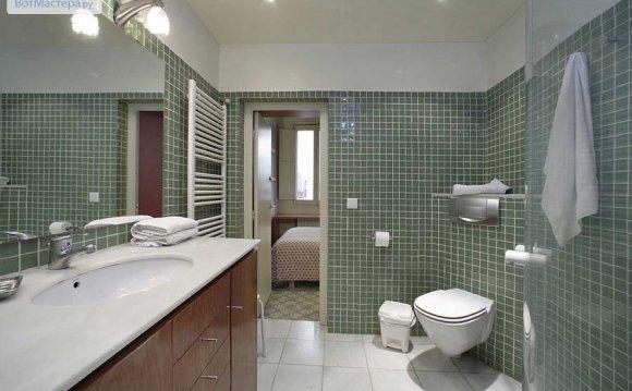Стены в ванной из гипсокартона