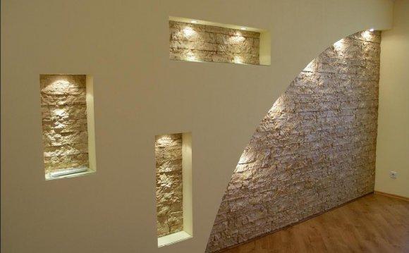 Ниша в стене из листов